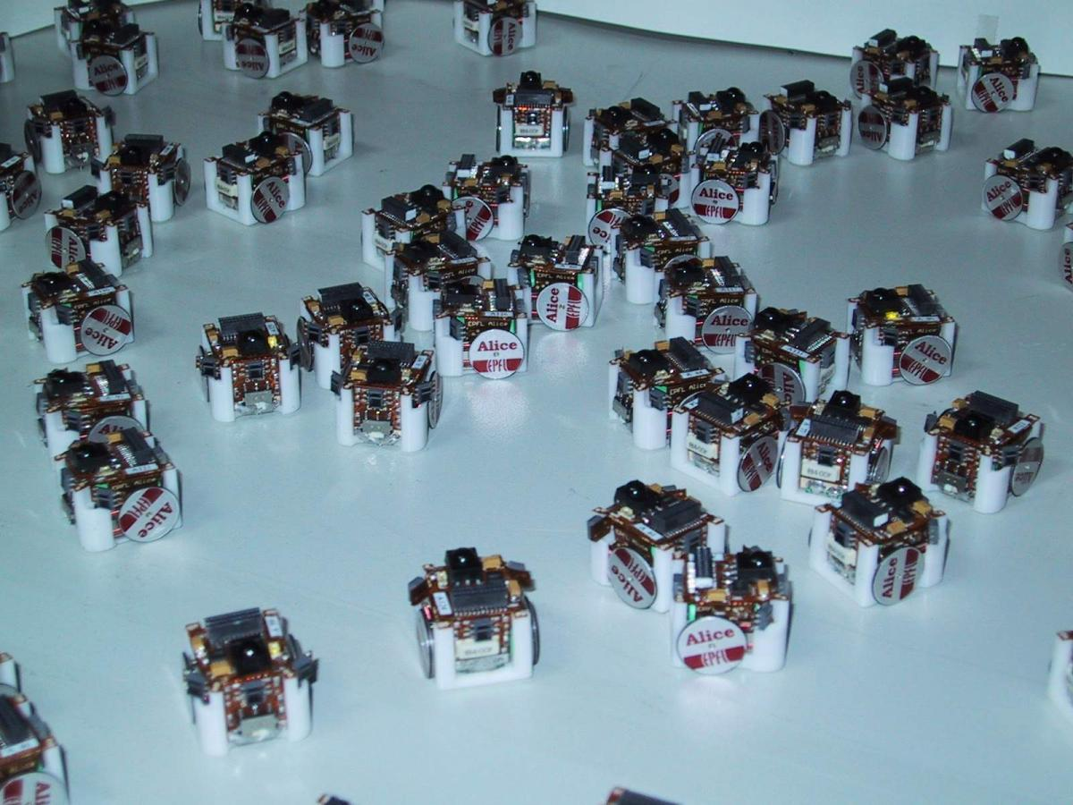 Alice Hizook Short Circuit Robot For Sale Swarm Of Micro Robots