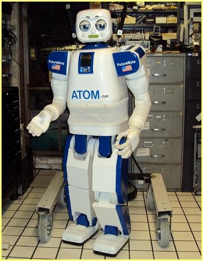 ATOM Humanoid Robot from FutureBot Labs