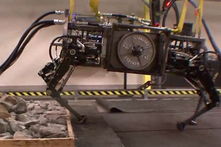AlphaDog Robot from Boston Dynamics