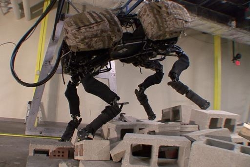 Big Dog Robot from Boston Dynamics