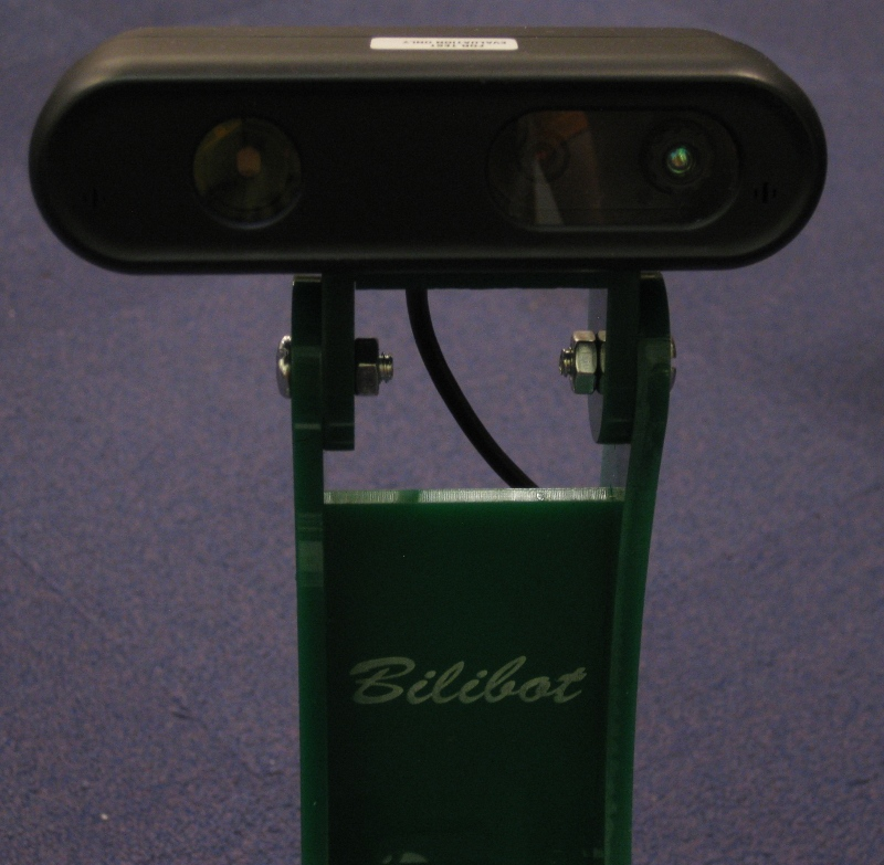 Bilibot -- Robot based on iRobot Create and Kinect depth camera