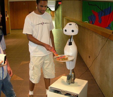 CMU Snackbot (The Snack-Fetching Robot) Early Prototype