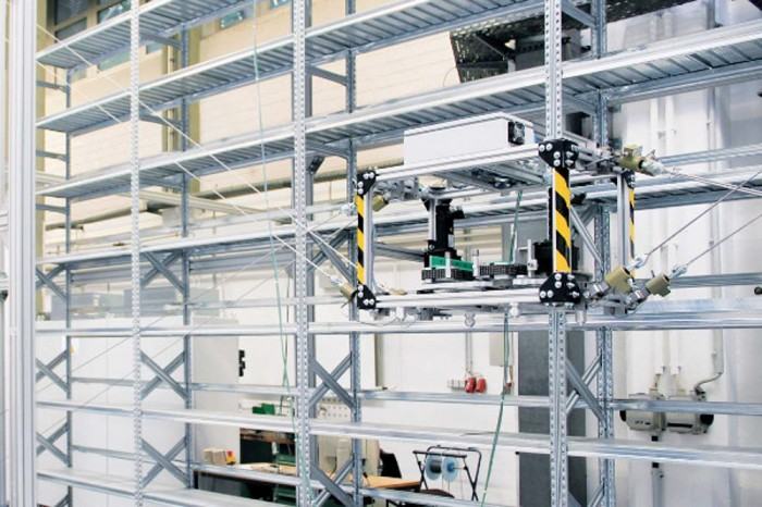 TwinCAT3 warehouse system