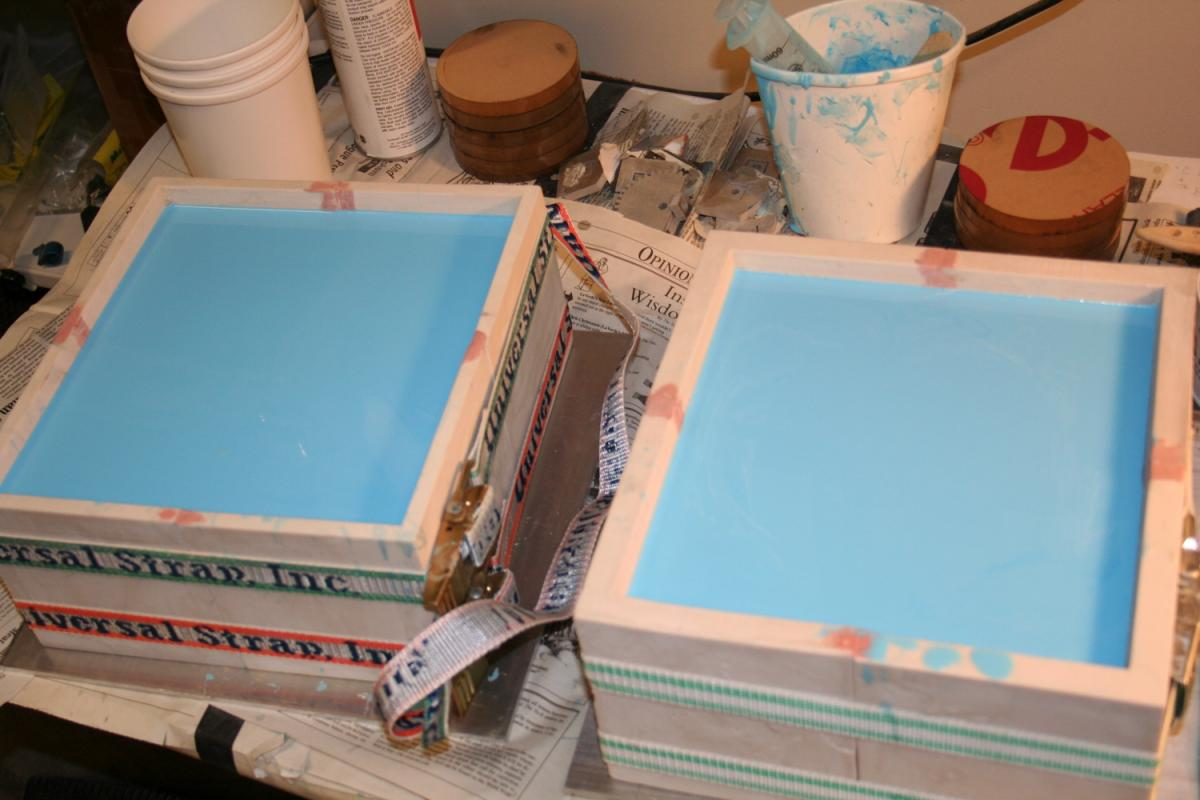 quick drying latex for mold making