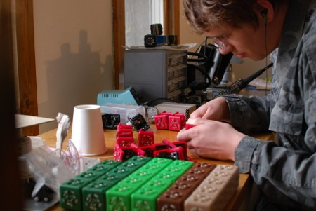 Cubelets: A Robot Construction Kit from Modular Robotics
