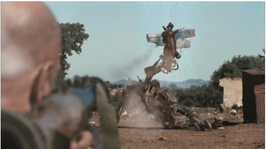 "Exoskeleton Robot on the upcoming Neill Blomkamp ""District 9"""