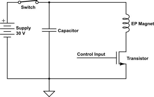EP_Magnet_Drive_Circuit_0 electropermanent magnets programmable magnets with zero static electromagnet wiring diagram at bakdesigns.co