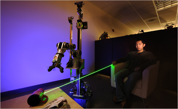 Laser-Pointer Interface for El-E robot