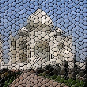 Mosaics using GIMP software