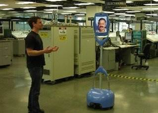 Giraffe Telepresence Robot by HeadThere