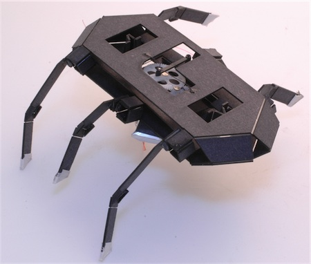 Motor-Driven Hexapod Robot Cockroach
