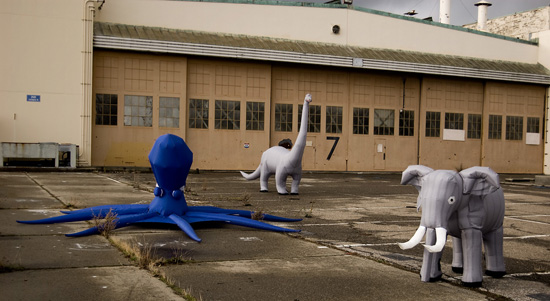 Inflatable Animals from Otherlab
