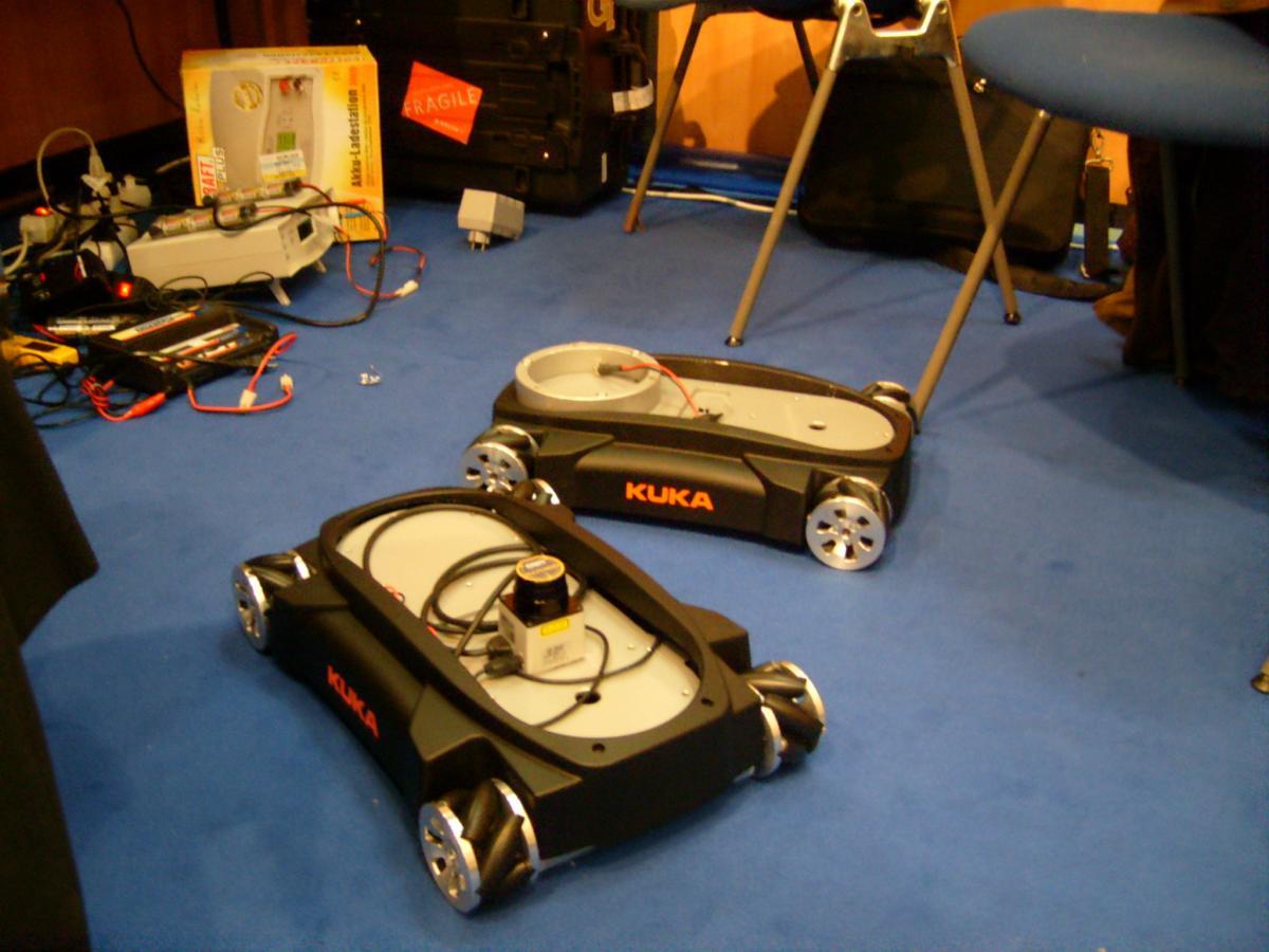 Omnirob Kuka Robotics Foray Into Omnidirectional Mobile