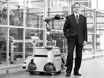 OmniRob: Kuka Robotics Omnidirectional Platform for Mobile Manipulation