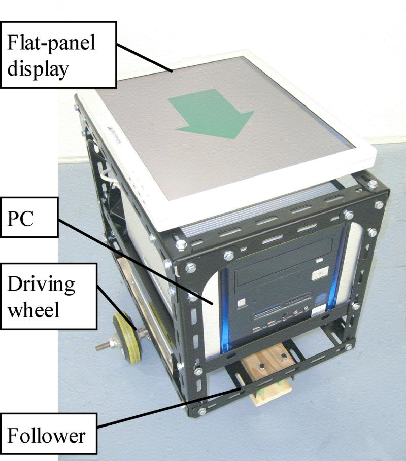 LCD Interface for a Robot