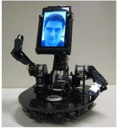 MeBot: The expressive robot cellphone from MIT