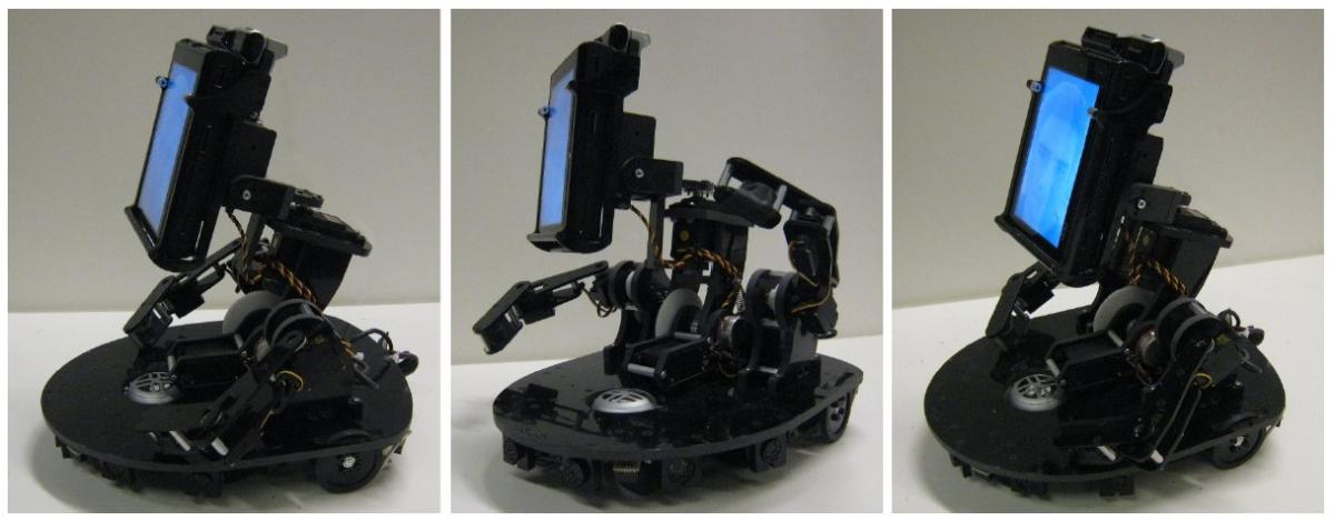 MeBot Robot from MIT -- Teleconferencing and Driving