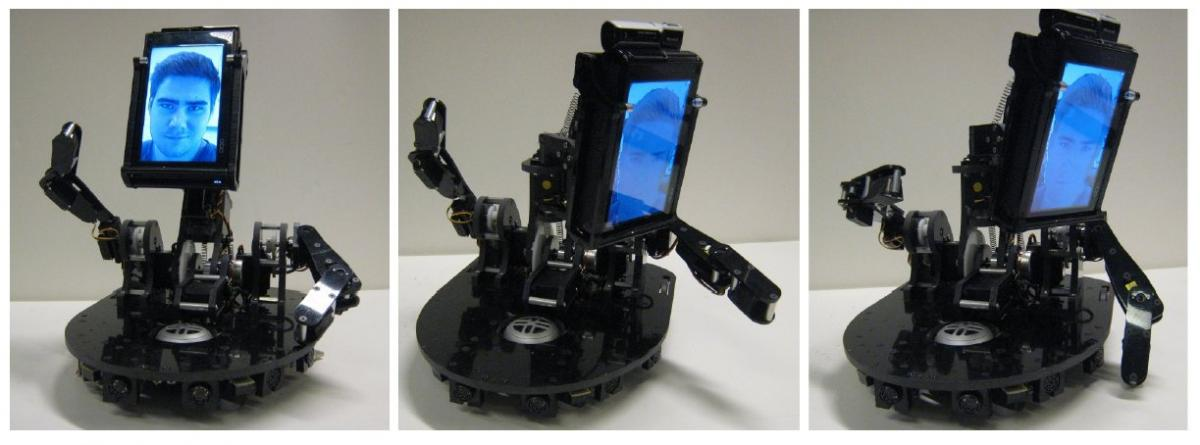 MeBot Robot from MIT -- Teleconferencing and Gesturing