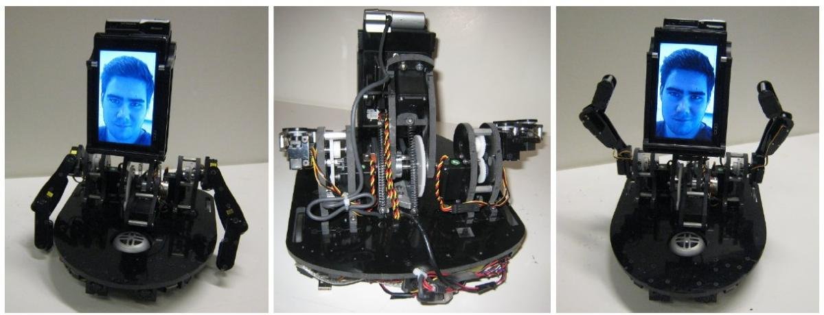 MeBot Robot from MIT -- Various Views
