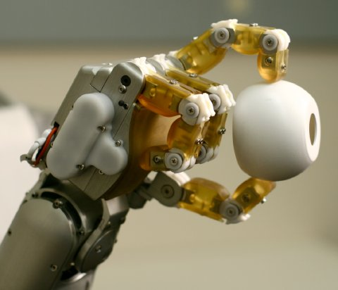 "Underactuated ""H2 Compliant Hand"" from Meka Robotics"