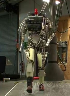 PETMAN humanoid robot from Boston Dynamics