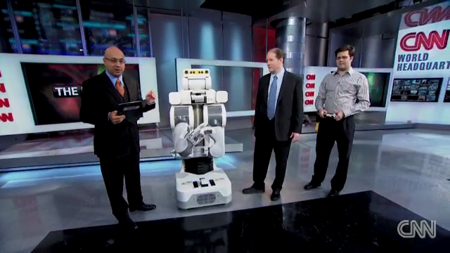 PR2 Robot on CNN: Success!