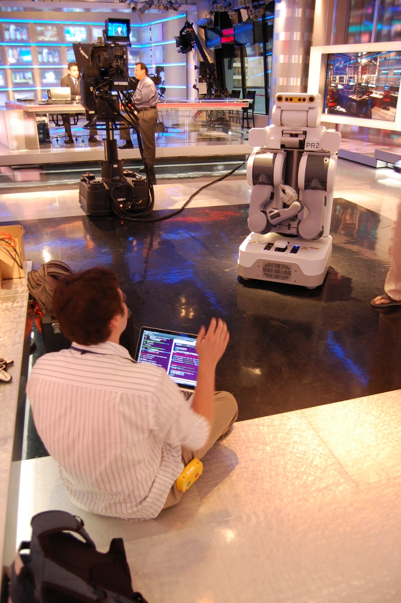 PR2 Robot on CNN: Building New Behaviors