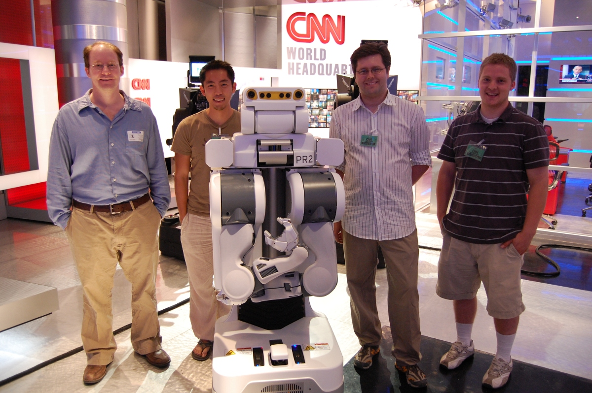 PR2 Robot on CNN: The Healthcare Robotics Lab Team