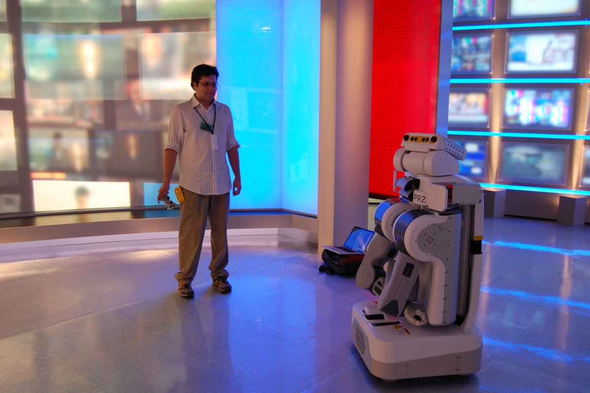 PR2 Robot on CNN: Preparations