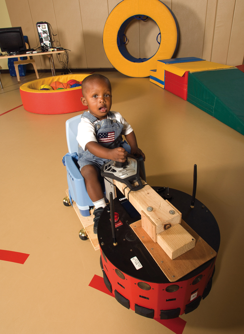 Robot Wheelchair for Babies / Infants