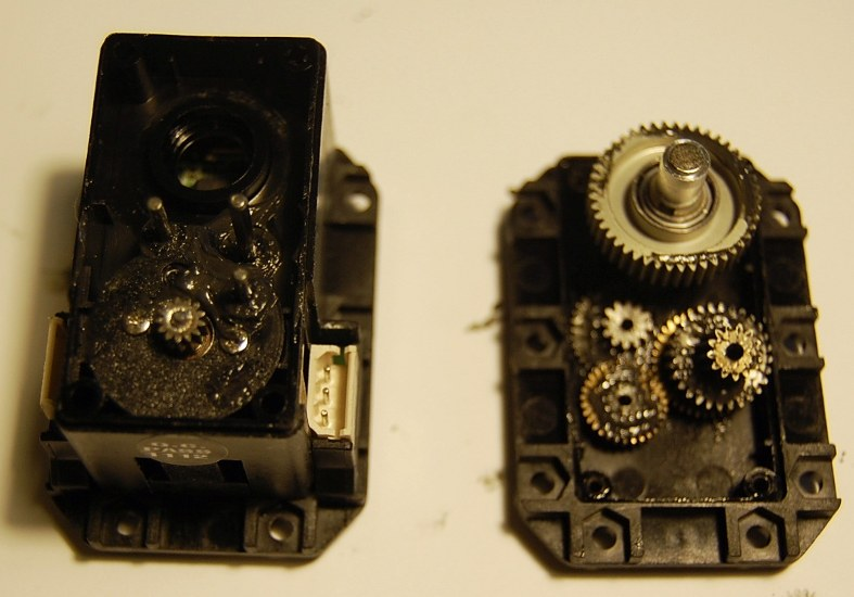 MX-28 Robotis Dynamixel Servo Internals (Gears Bottom)