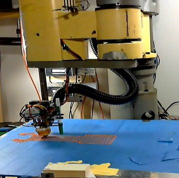 3D Printer Robot Using SCARA Arm