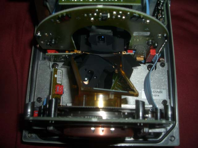 SICK LMS210 Laser Rangefinder (LIDAR) Mirror rotation assembly