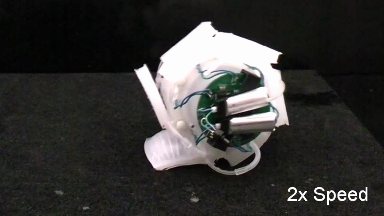 Soft Robot Using EP Magnets and Pneumatic Battery
