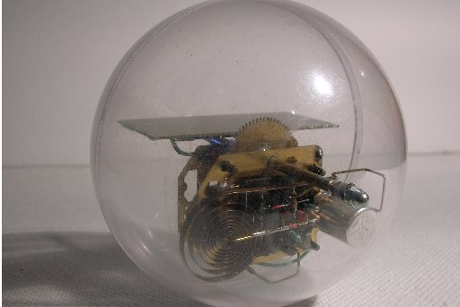 Solar Spherical Robot