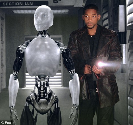 Sonny Robot from iRobot Movie