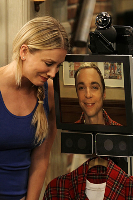Telepresence Robot on Big Bang Theory