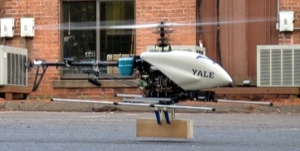 Yale aerial manipulator with compliant SDM gripper