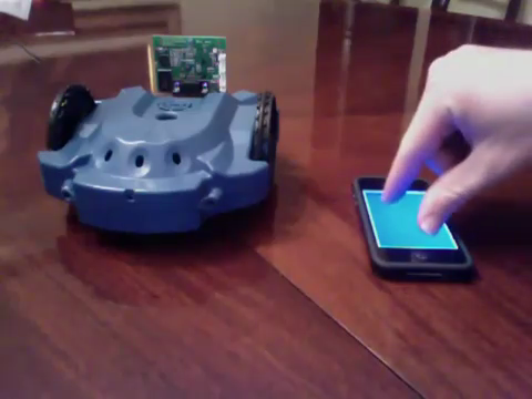 iPhone Controlled Robot (Scribbler by Matt Might)