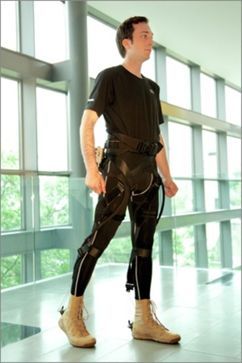 Inflatable exoskeleton from Harvard