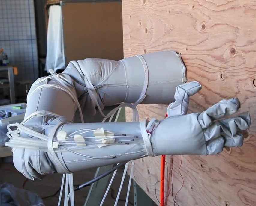 Inflatable Robot Arm and Hand