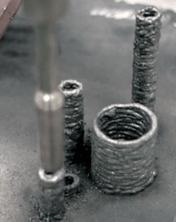 Anti Gravity 3D printer using metal