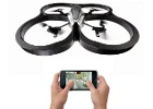 iPhone Controlled Robot -- ARDrone Robot Helicopter
