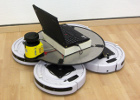 Roomba QuadDrive Omnidirectional Robot Base