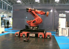 KUKA Titan Robot Arm on OmniMove (holonomic) Mobile Base
