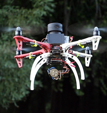 Scanse's Sweep on Drone